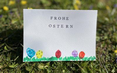 Dieses Jahr gibt es persönliche Oster-Grußkarten!