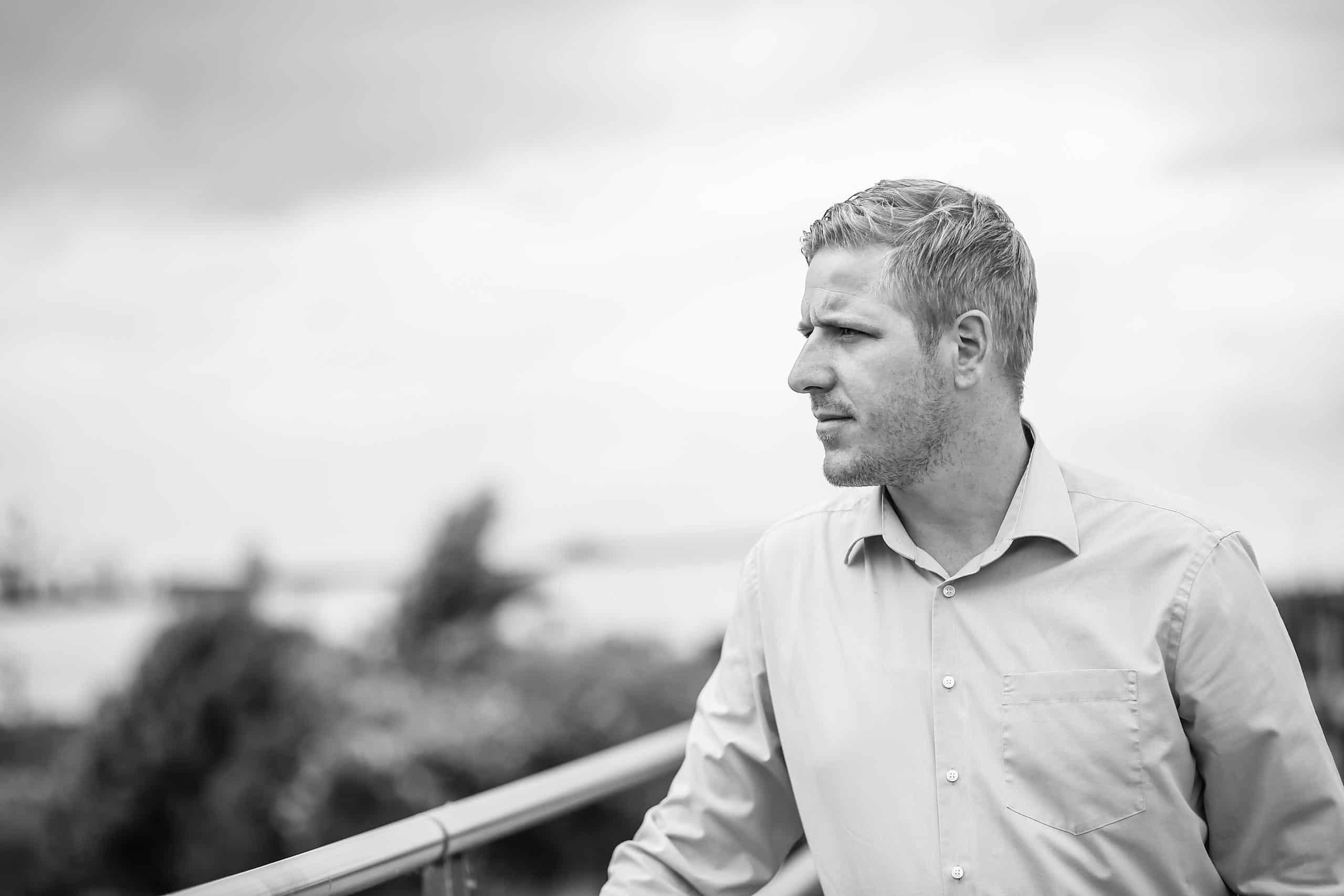 Das Bild zeigt den Landratskandidaten Markus Ramers